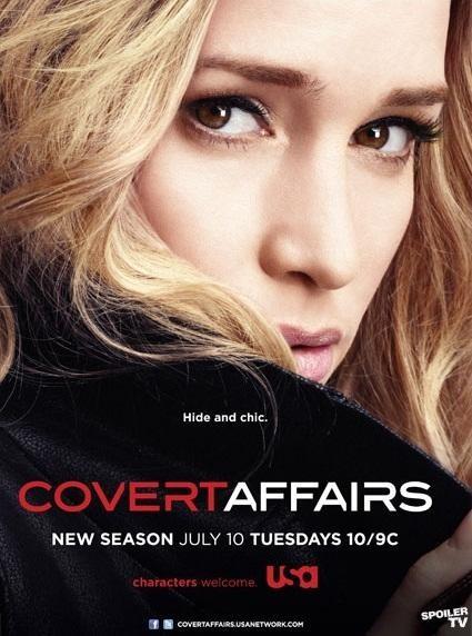 Covert Affairs kapak