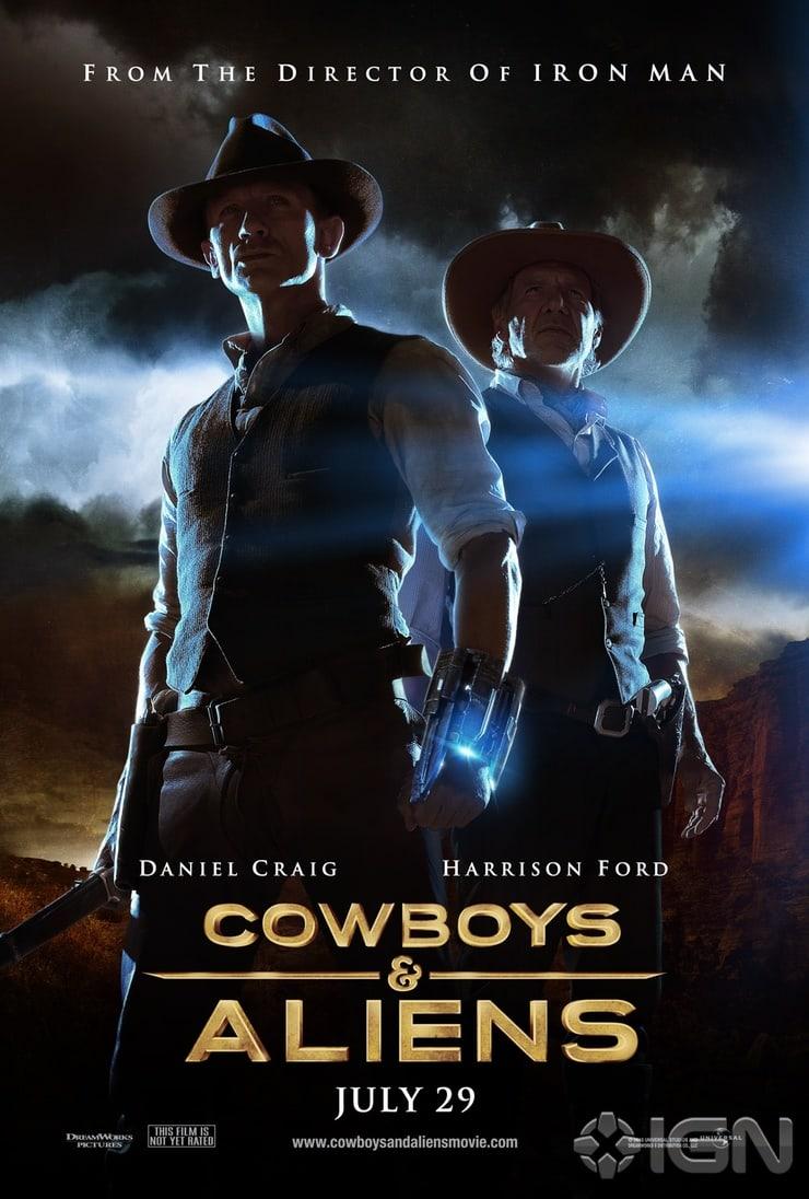 Cowboys & Aliens kapak