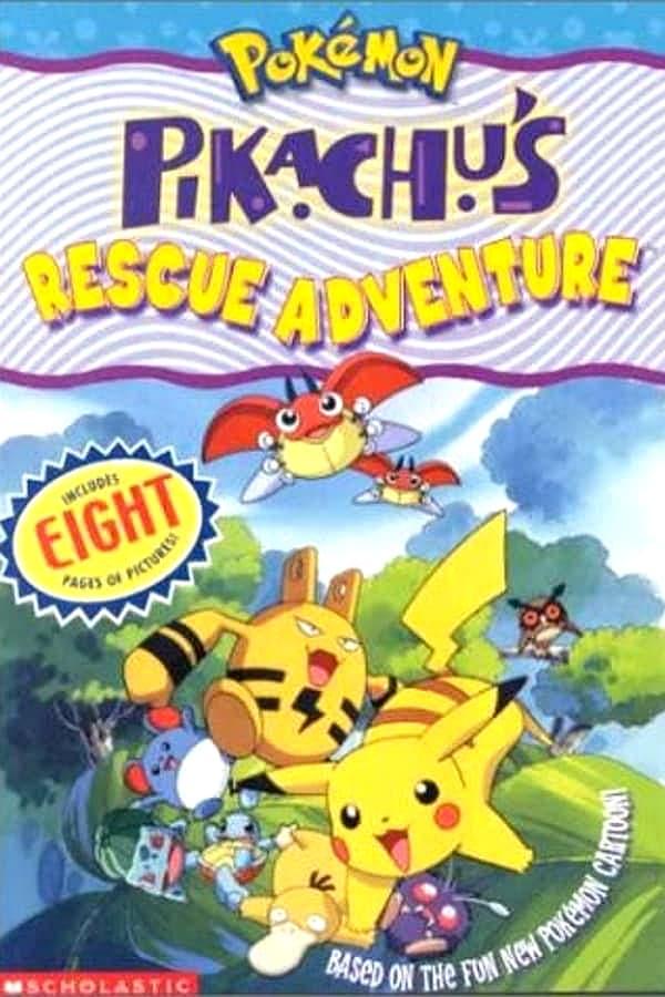Pokemon: Pikachu's Rescue Adventure kapak