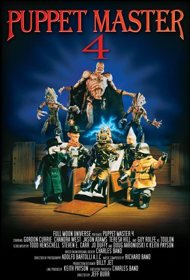 Puppet Master 4 kapak