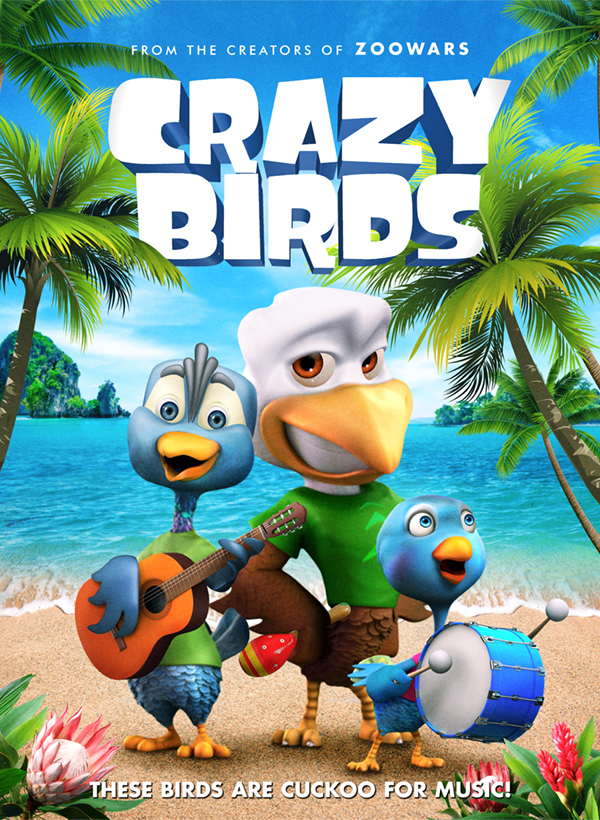 Crazy Birds kapak