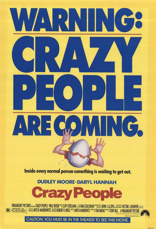 Crazy People kapak