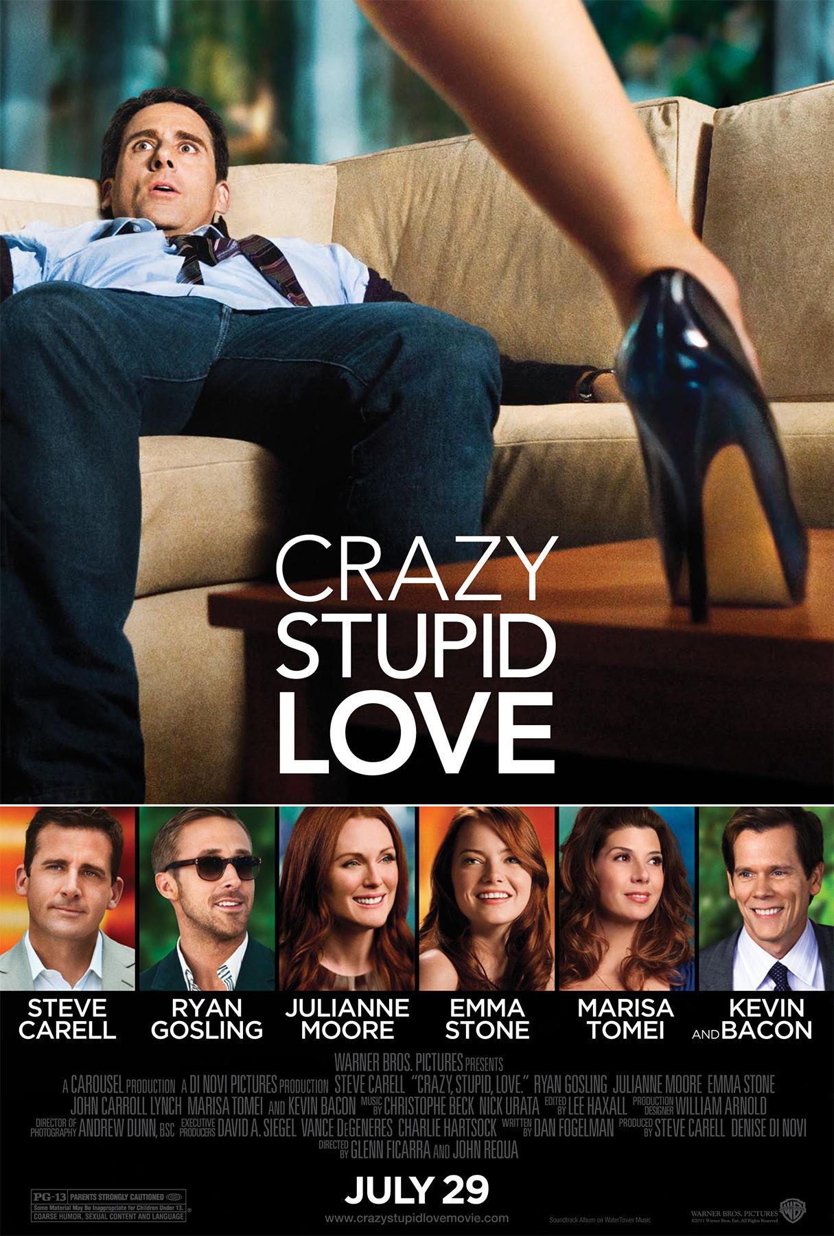 Crazy, Stupid, Love. kapak