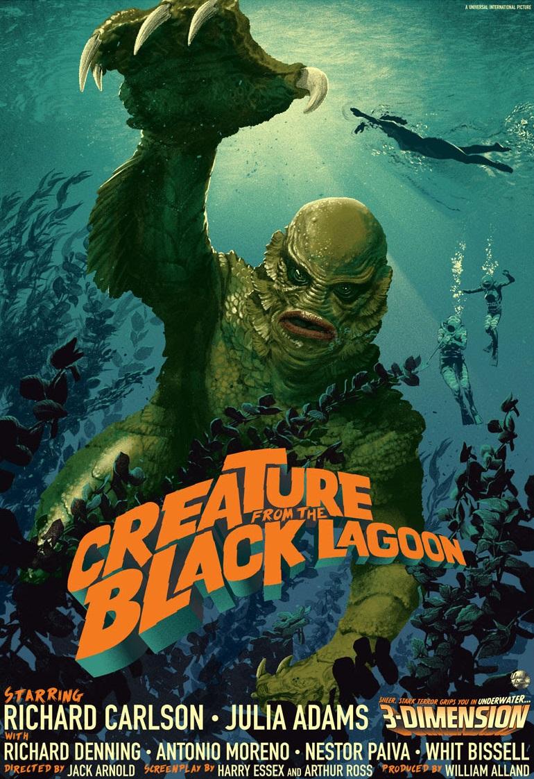 Creature from the Black Lagoon kapak