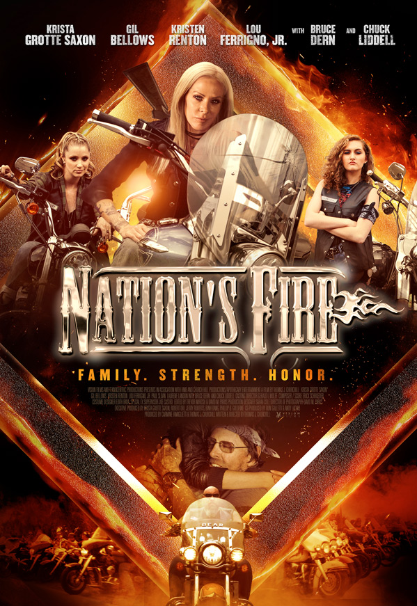 Nation's Fire kapak