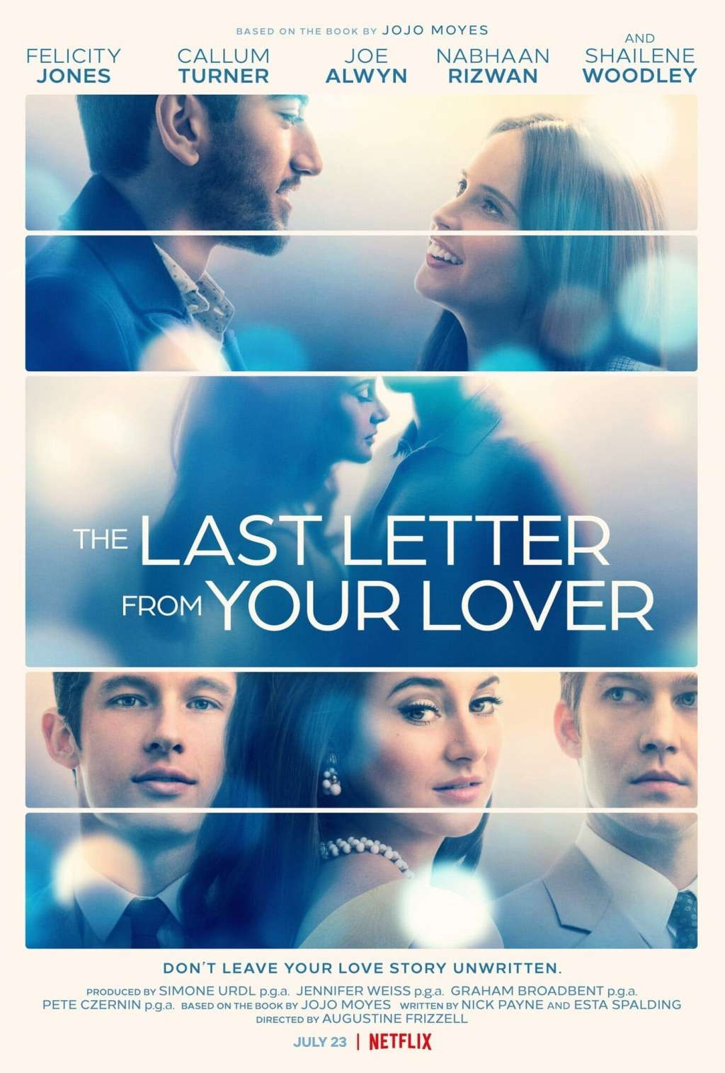 The Last Letter from Your Lover kapak