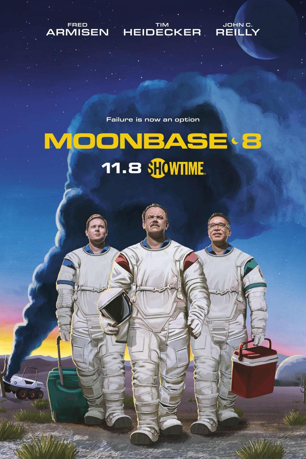 Moonbase 8 kapak