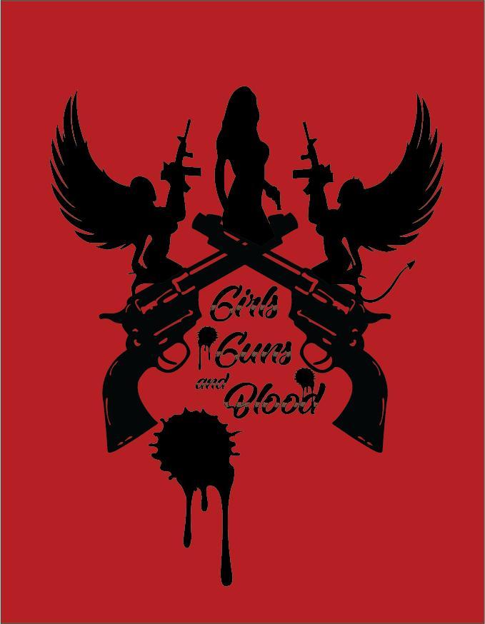 Girls Guns and Blood kapak
