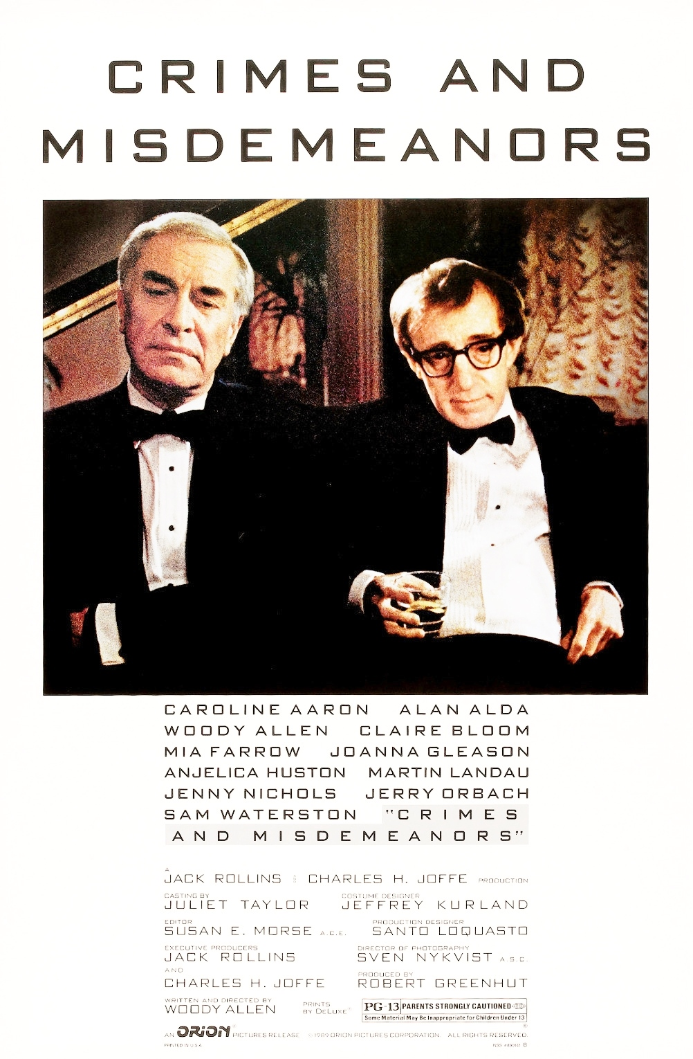 Crimes and Misdemeanors kapak
