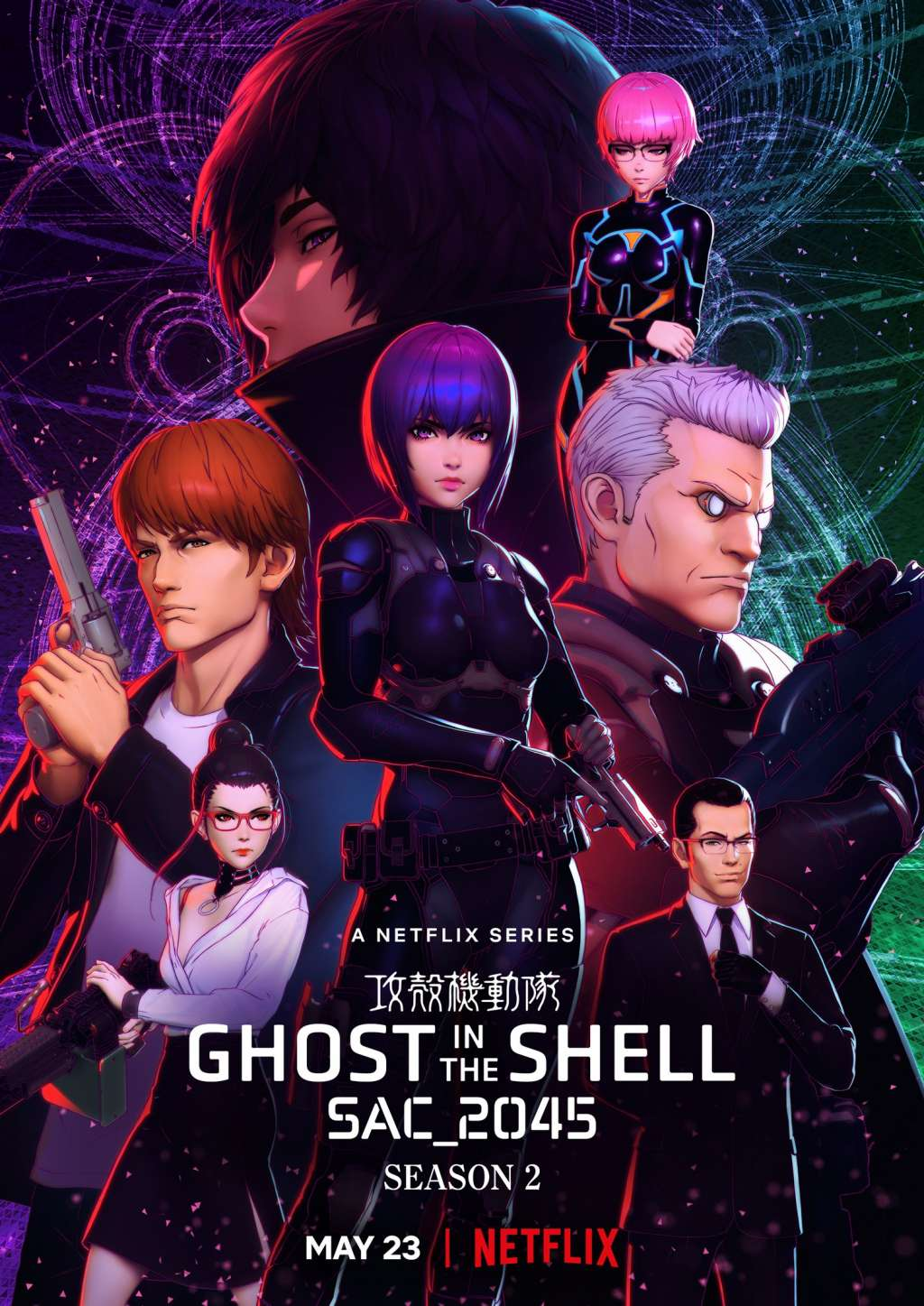 Ghost in the Shell SAC_2045 kapak