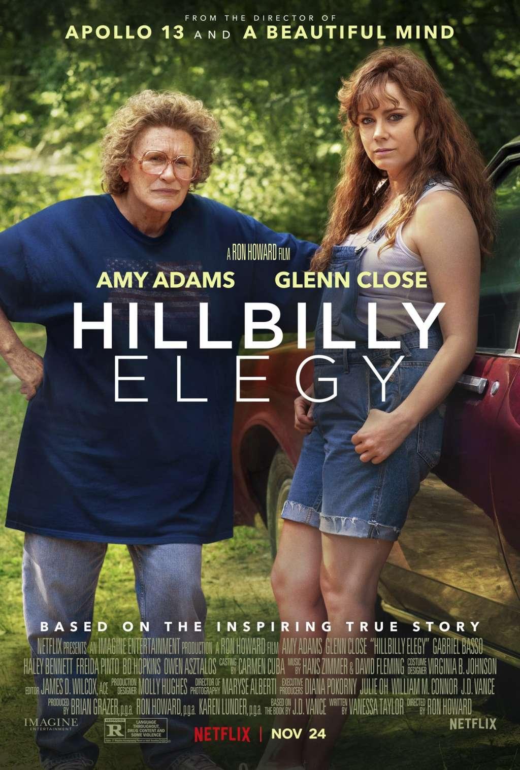 Hillbilly Elegy kapak