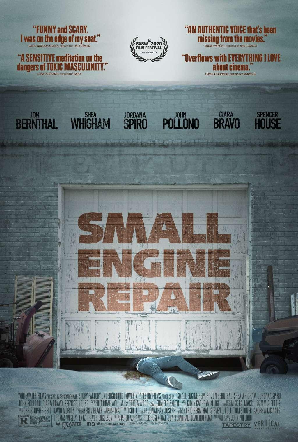 Small Engine Repair kapak