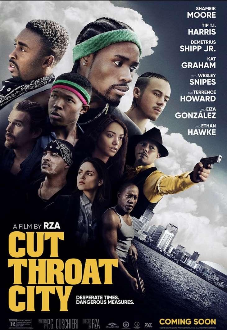 Cut Throat City kapak