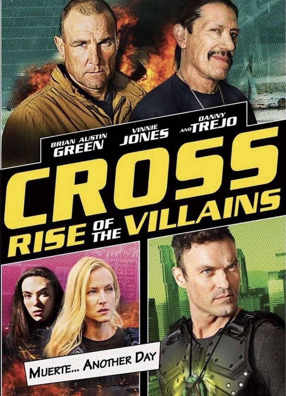 Cross: Rise of the Villains kapak