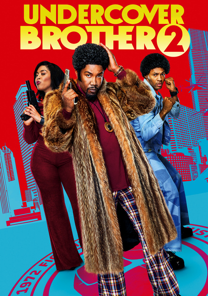 Undercover Brother 2 kapak