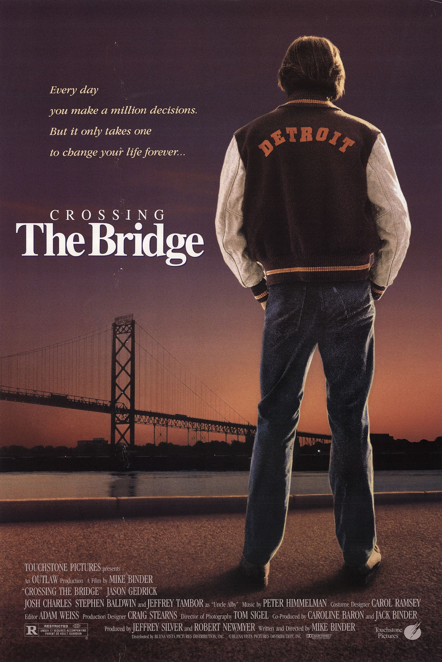 Crossing the Bridge kapak