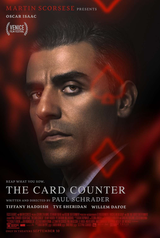 The Card Counter kapak