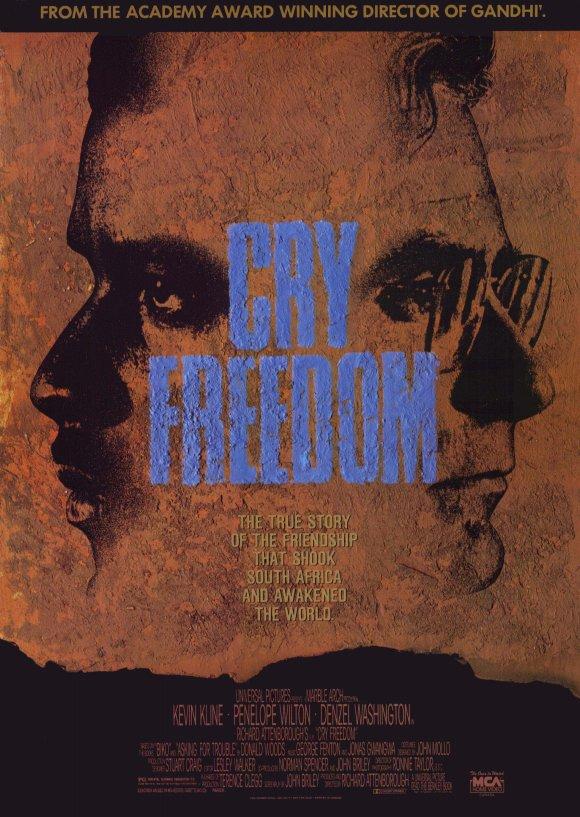 Cry Freedom kapak