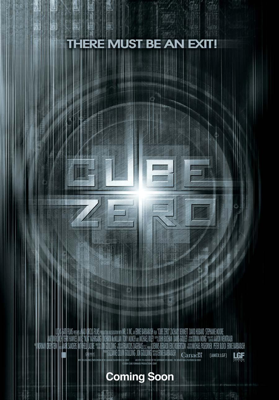 Cube Zero kapak