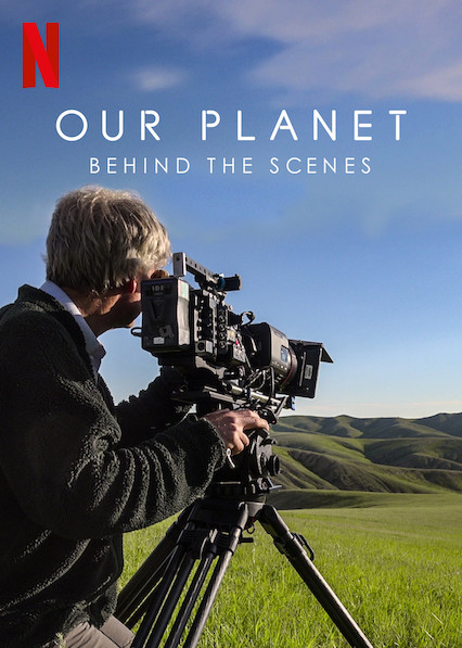 Our Planet: Behind the Scenes kapak