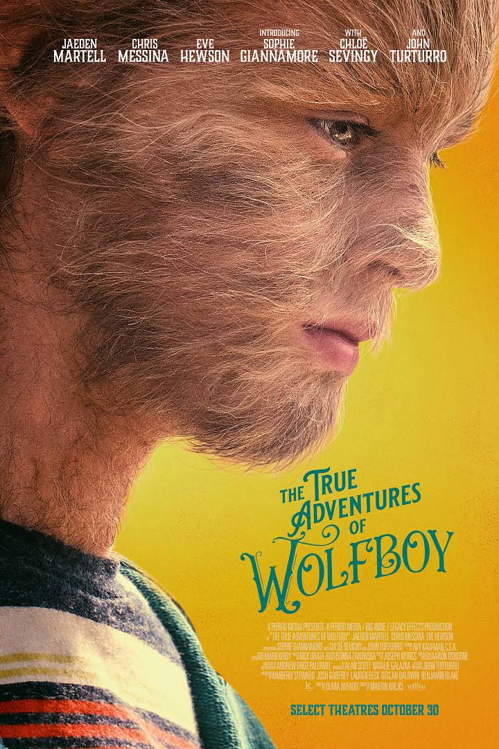 The True Adventures of Wolfboy kapak