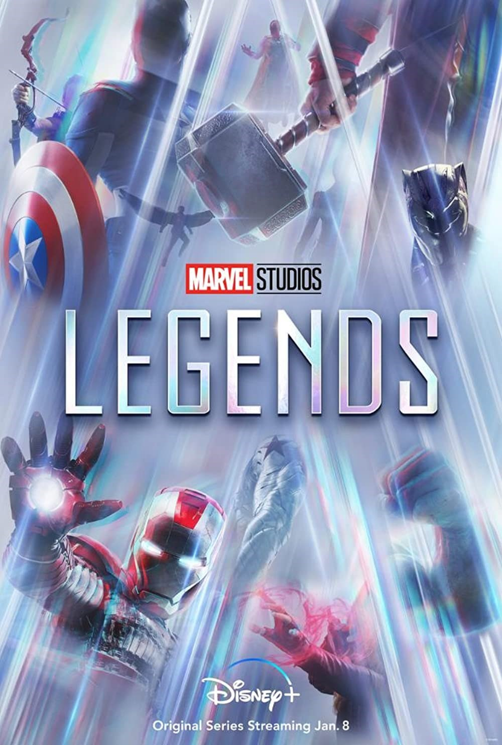 Marvel Studios: Legends kapak