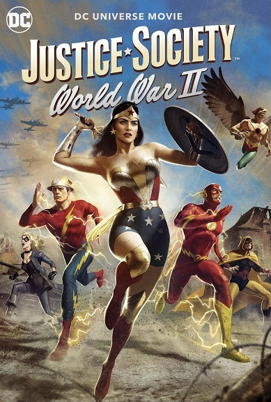 Justice Society: World War II kapak