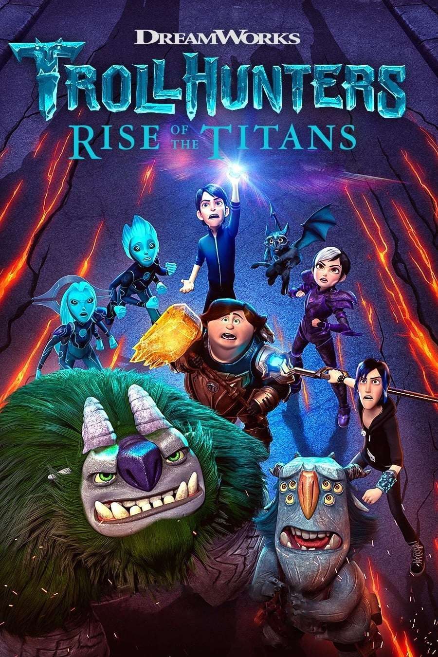 Trollhunters: Rise of the Titans kapak