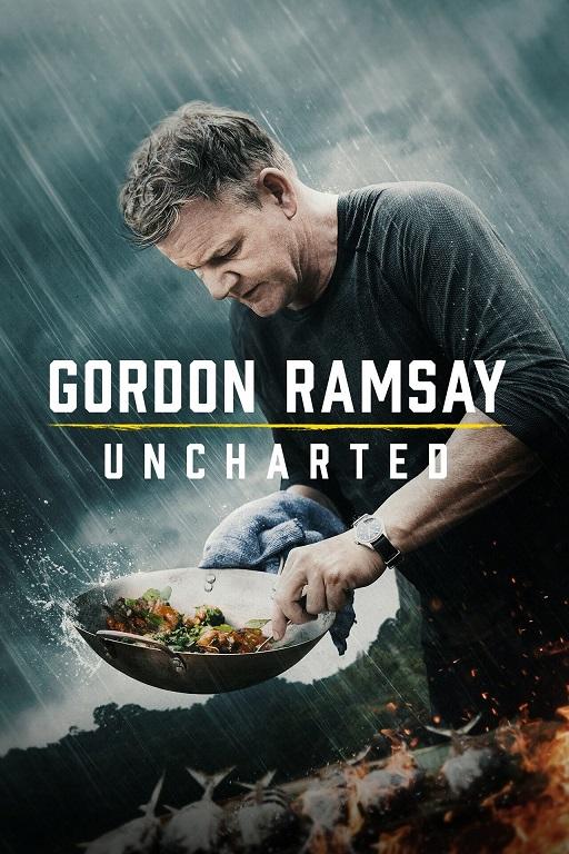 Gordon Ramsay: Uncharted kapak