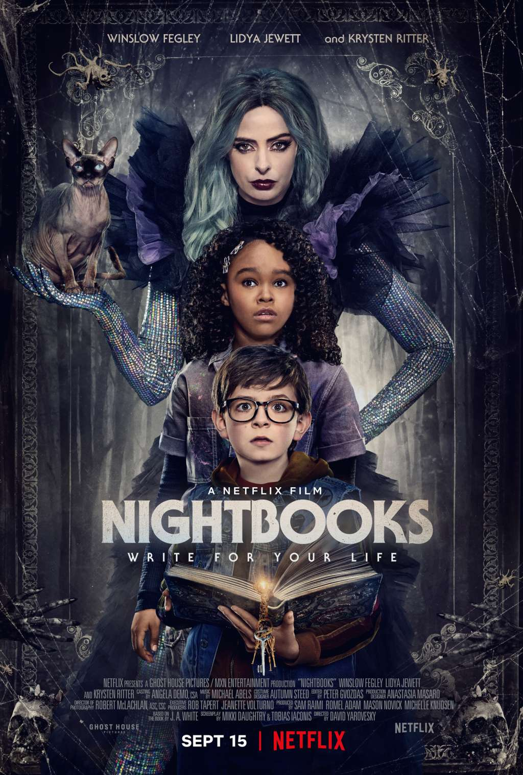 Nightbooks kapak