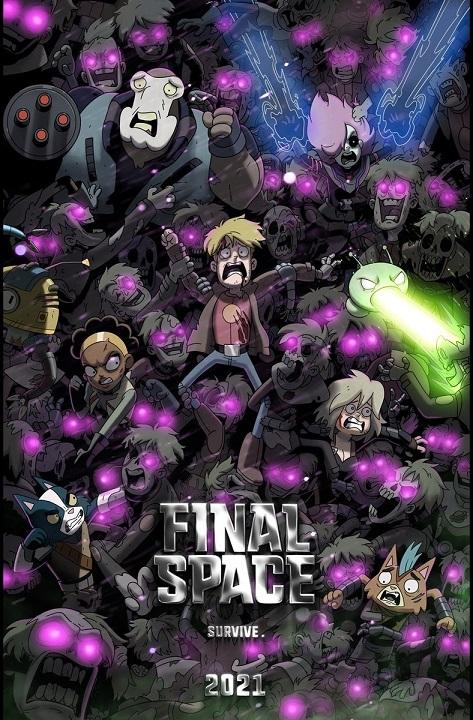 Final Space kapak