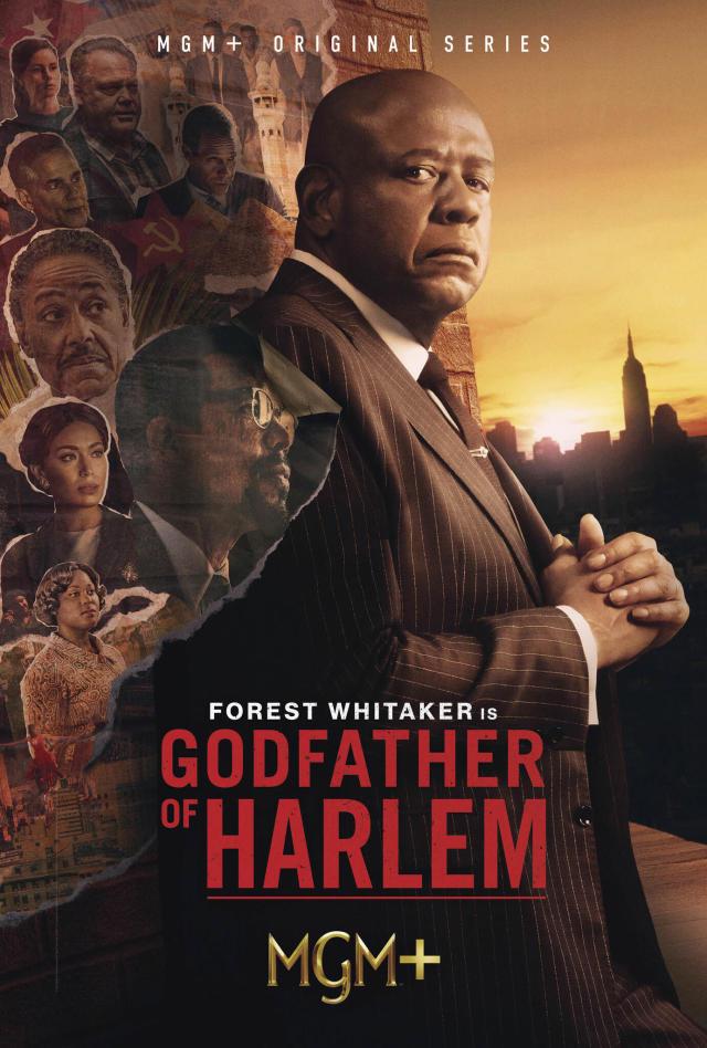 Godfather of Harlem kapak