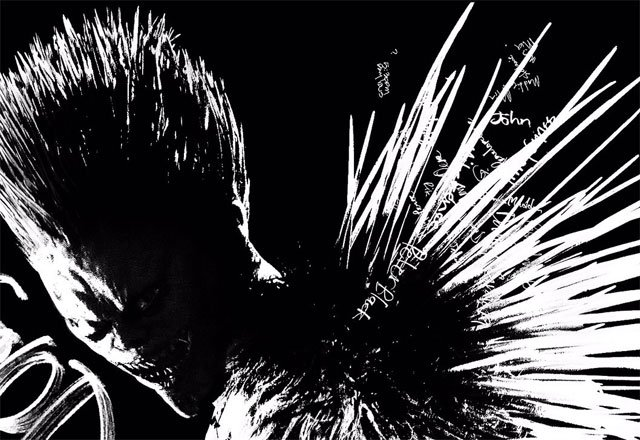 Netflix'in Death Note'undan Ryuk Posteri