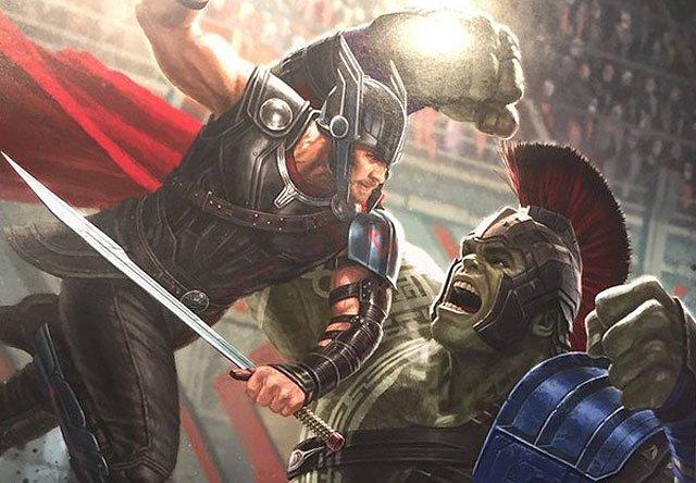 Yeni Thor: Ragnarok Afişi