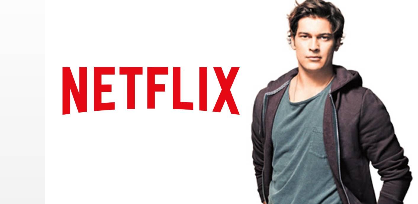 Netflix'in ilk Türk orijinal dizisinin başrol oyuncusu Çağatay Ulusoy oldu.