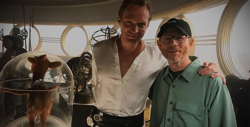 Paul Bettany, Han Solo'daki Çekimlerini Bitirdi