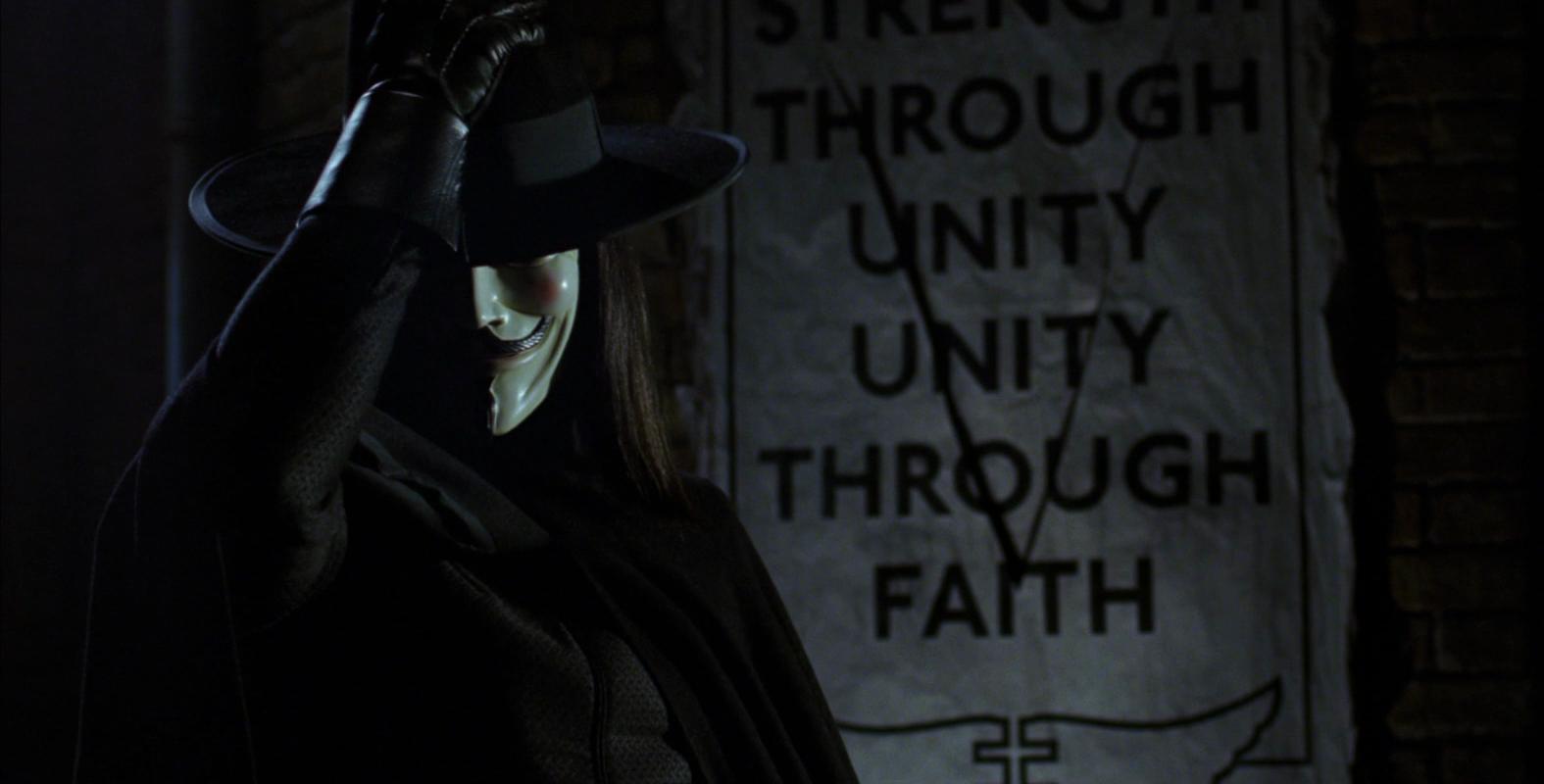 V For Vendetta Diziye Uyarlanıyor