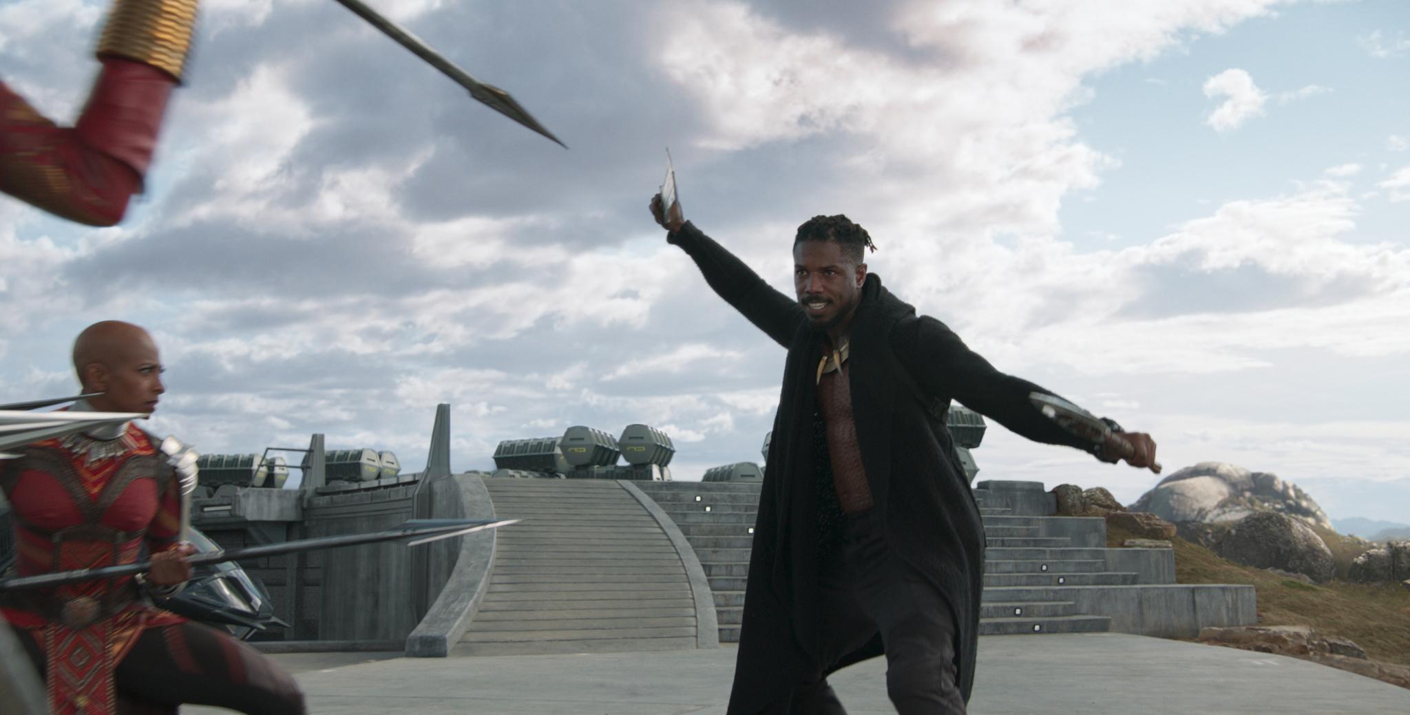 Chadwick Boseman'a Rağmen Michael B Jordan Kara Panter'in Yeni Fragmanında Tüm İlgiyi Üzerine Topluyor