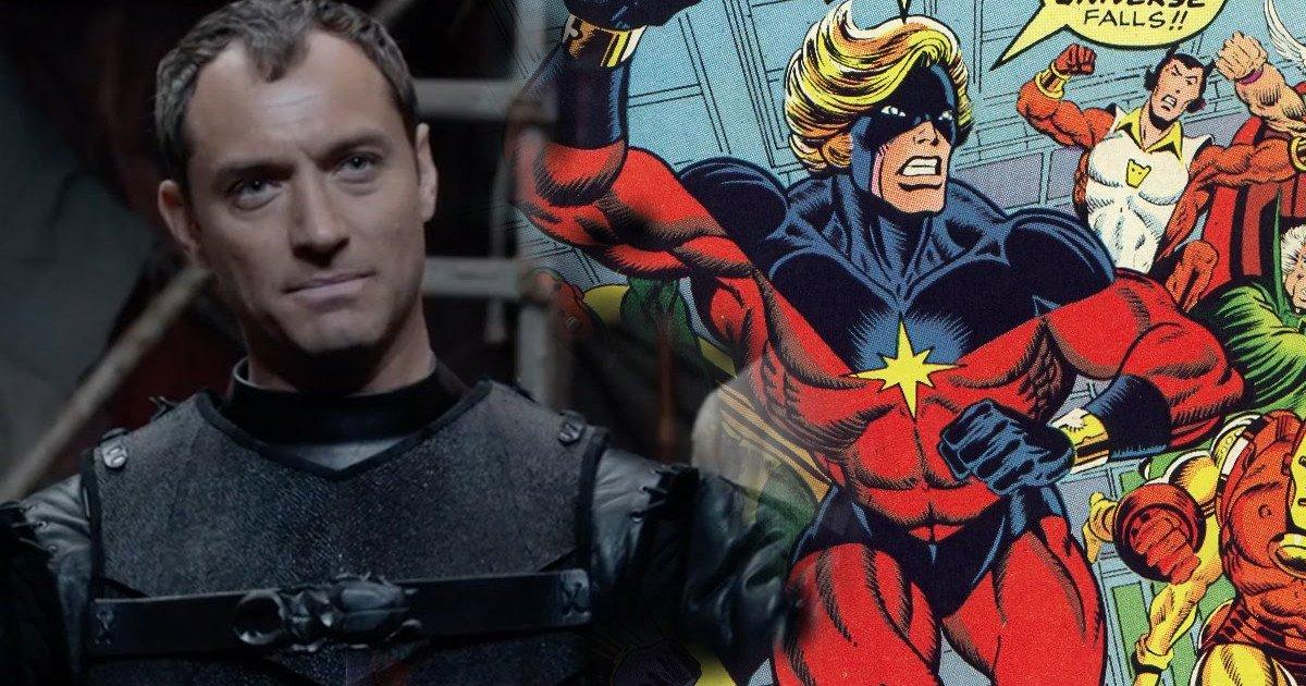 Captain Marvel Filminde Oynaması İçin Jude Law İle Görüşülüyor!