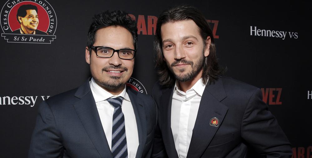 Michael Pena ve Diego Luna, Narcos'un Kadrosunda
