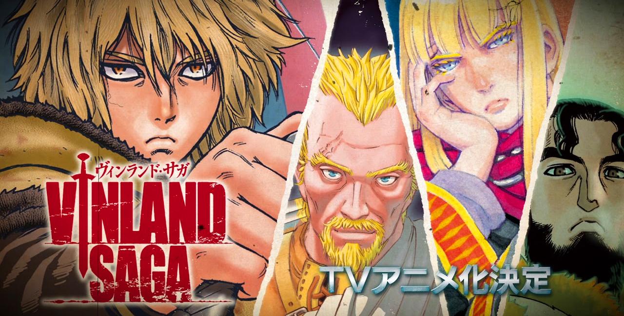Epik Manga Vinland Saga'nın Animesi Çıkıyor
