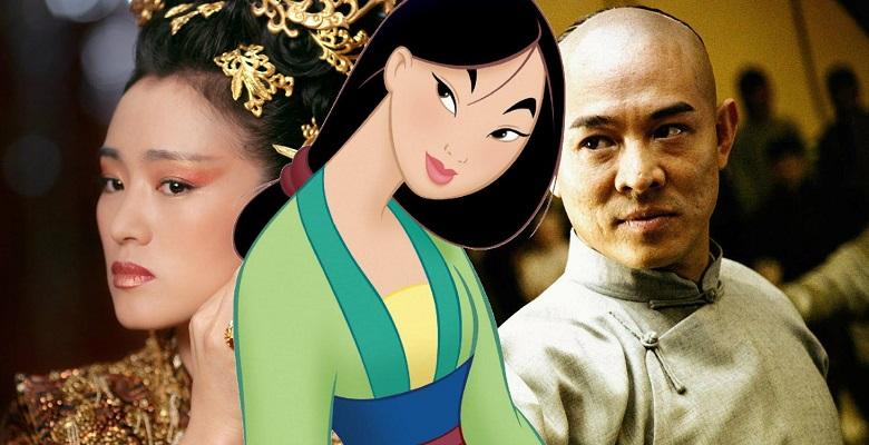 Jet Li ve Gong Li de Live-Action Mulan Filminin Kadrosuna Katıldı
