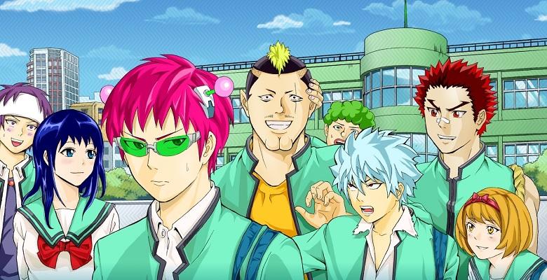 Saiki Kusuo no Ψ-nan Serisinin Yeni Animesi Çıkacak