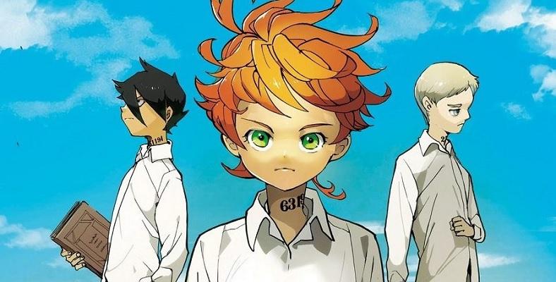 The Promised Neverland Animesinin Gösterim Tarihi Açıklandı