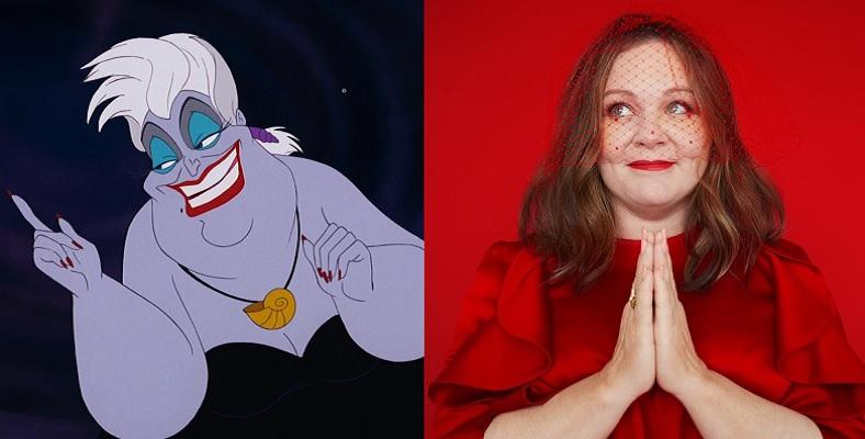 Ursula Rolü için Melissa McCarthy ile Görüşülüyor