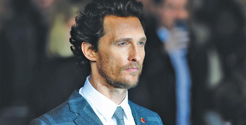 Matthew McConaughey, Harvey Dent Olarak The Batman'de